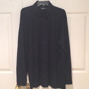 Giorgio Armani Men's Wool Button Down Shirt
